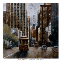 Cable Cars in San Francisco Fine Art Print