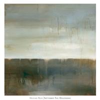 September Fog Descending Fine Art Print