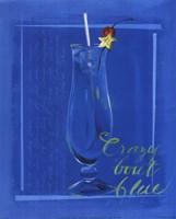 Crazy 'Bout Blue Fine Art Print