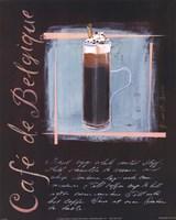 Cafe De Belgique Fine Art Print