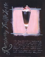 Raspberry Truffle Latte Fine Art Print