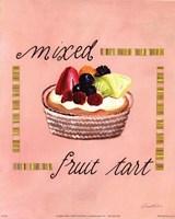 Mixed Fruit Tart Fine Art Print