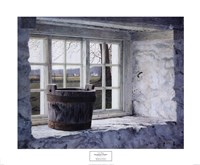 Springhouse Window Fine Art Print