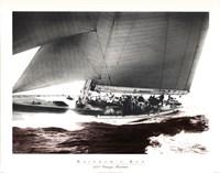 Rainbow's Run 1934 Vintage Maritime Fine Art Print