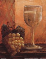 Grapes and Wine III Fine Art Print