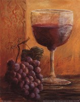 Grapes and Wine IV Fine Art Print