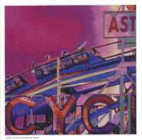 Ride the Cyclone in Pink Fine Art Print