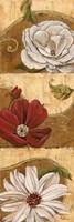Floral Breeze I Framed Print