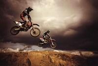 Motocross - Big Air Fine Art Print