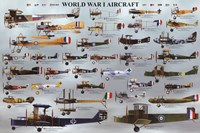 World War I Aircraft Fine Art Print