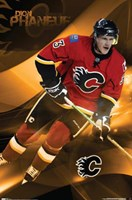Flames - D Phaneuf Wall Poster