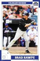 Rockies - Brad Hawpe Poster Wall Poster