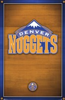 Nuggets - Logo Wall Poster