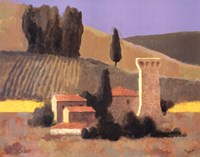 Castellina Fine Art Print