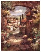 Tuscan Vista Framed Print