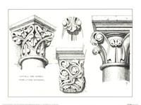 Capital And Corbels Fine Art Print