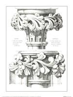 English Capitals Fine Art Print