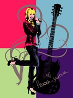Hannah Montana: Let it Rock Framed Print