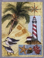 Lighthouse Letters Fine Art Print