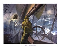 At The Helm Fine Art Print