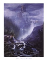 The Living Waters Framed Print