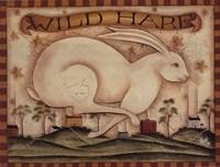 Wild Hare Fine Art Print