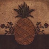 Pineapple Floral Fine Art Print