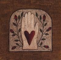 Hand 'N Heart Fine Art Print