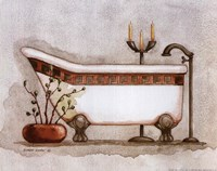Athena II Classic Bath Fine Art Print