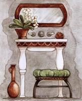 Athena III Classic Bath Framed Print