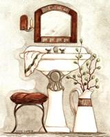 Athena IV Classic Bath Fine Art Print