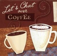 Lets Chat Fine Art Print