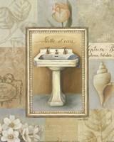Tranquil Bath I Fine Art Print