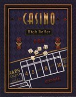 High Roller (Craps) Fine Art Print
