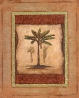 Palm Botanical Study I - mini Fine Art Print