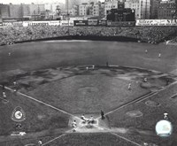 Yankee Stadium Game four of the 1950 World Series Fine Art Print