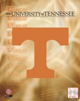 2008 University of Tennessee Logo Framed Print