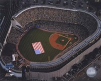 Aerial view of Yankee Stadium - 2008 MLB All-Star Game Fine Art Print
