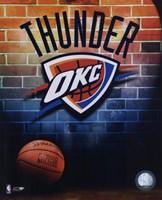 2008-09 Oklahoma Thunder Team Logo Fine Art Print