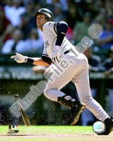 Derek Jeter 2008 Batting Action Fine Art Print