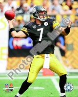 Ben Roethlisberger 2008 Action Fine Art Print