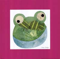 Green Frog Fine Art Print
