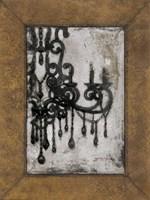 Antique Chandelier I Fine Art Print