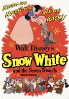 Snow White and the Seven Dwarfs Heigh-Ho! Fine Art Print