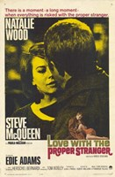 Love With the Proper Stranger Natalie Wood Fine Art Print
