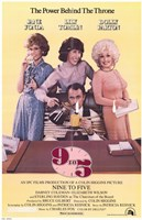 9 to 5 Framed Print
