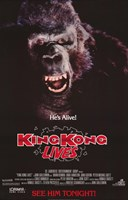 King Kong Lives 2 Fine Art Print