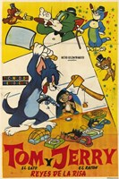 Tom and Jerry - spanish Fine Art Print