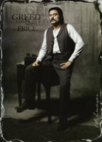 Deadwood Ian McShane as AI Swearengen Framed Print