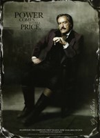 Deadwood Powers Boothe as Cy Tolliver Framed Print